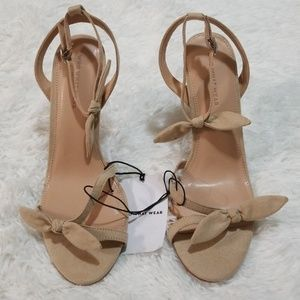 Who What Wear Tan Stiletto Heeled Sandals